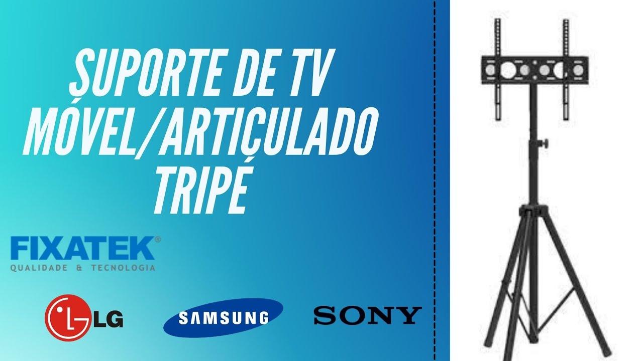 SUPORTE TRIPÉ PEDESTAL PARA TV LCD / LED PARA TELA DE 26-55 FT-170TR - FIXATEK