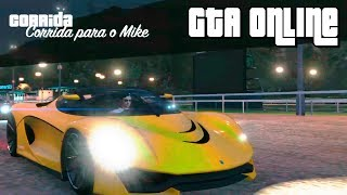 GTA Online - Minha Corrida com Super Carros:Show de Bola !