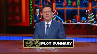 "Stephen Explains ""Star Wars"" To China"
