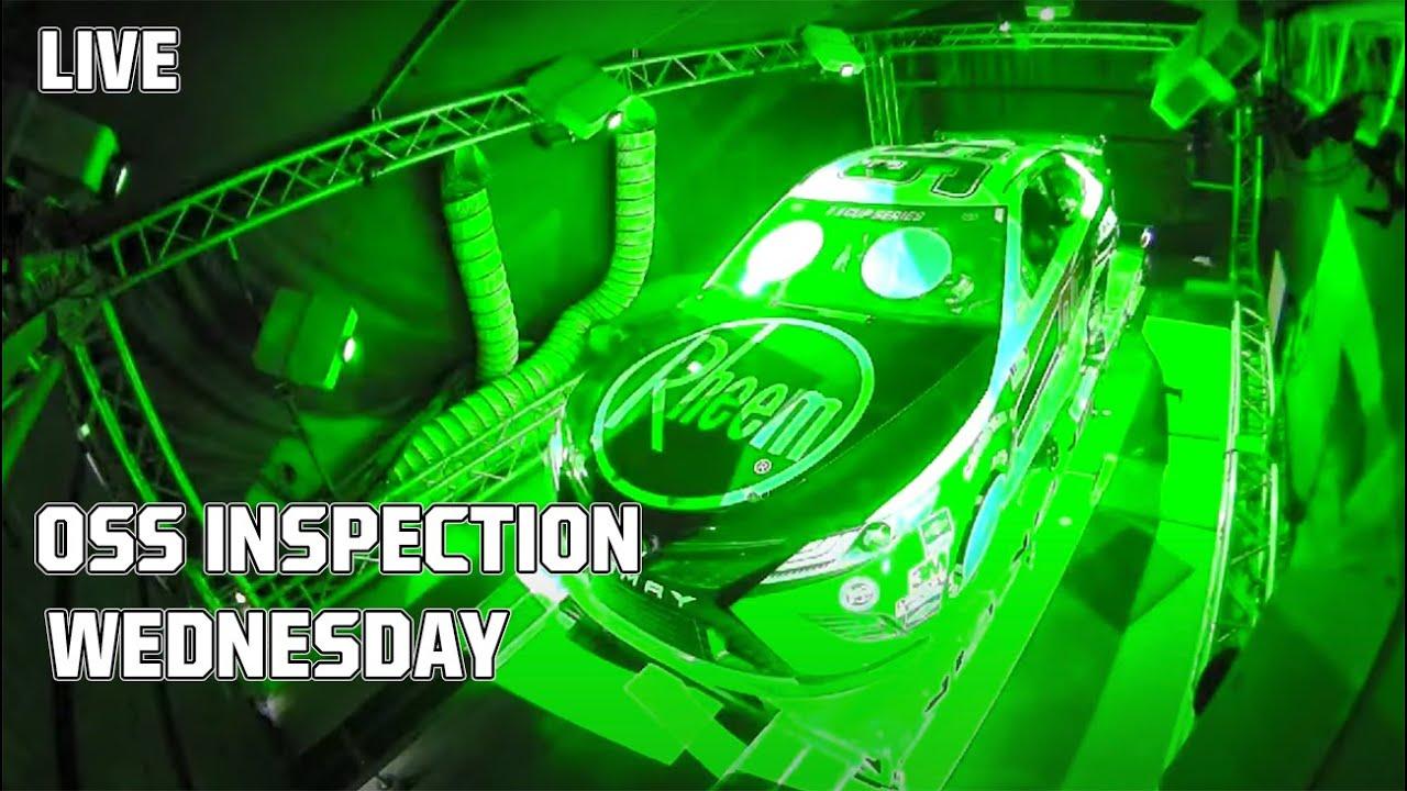 OSS Inspection Darlington Raceway Race 2 | Toyota 500 | NASCAR Cup Series