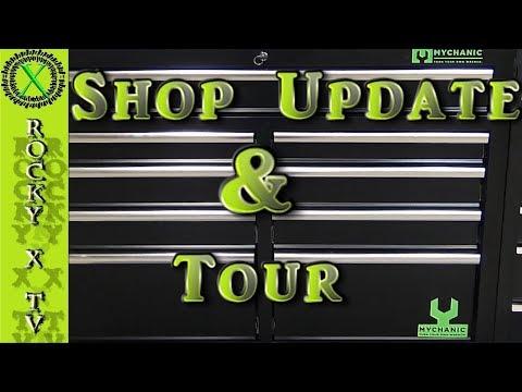 Garage Update & Tour, 10/17/17