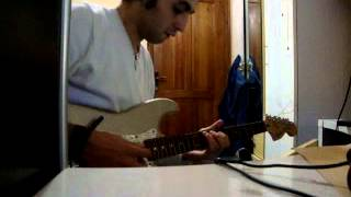 Nazim Ziryab Guthrie Govan - Larry Carlton Style Track - Cover by Nazim Ziryab