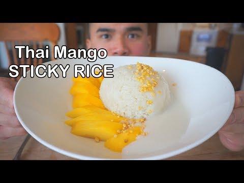 How to make THAI MANGO STICKY RICE thumbnail