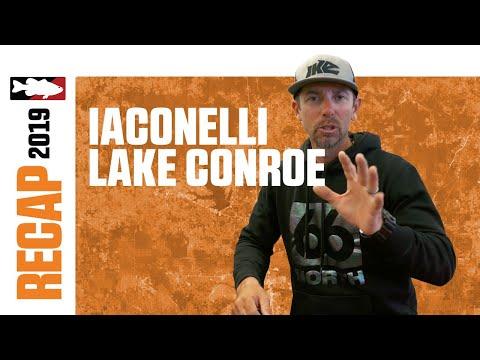 Mike Iaconelli's 2019 Bass Pro Tour Lake Conroe Recap