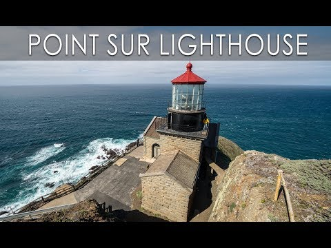 Point Sur Lighthouse Tour in Big Sur (4K)