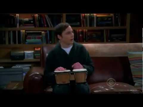 Sheldon Plays Bongos.