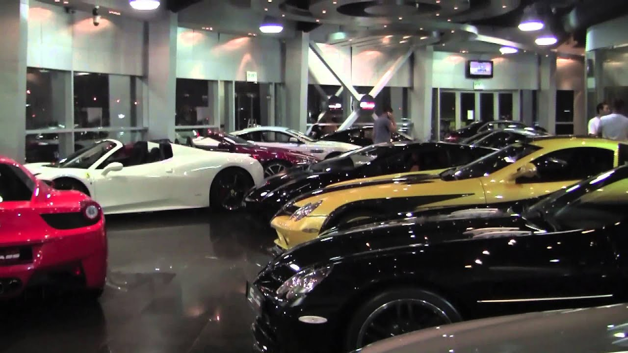 Dubai Supercar Showroom Which One Would You Choose Youtube