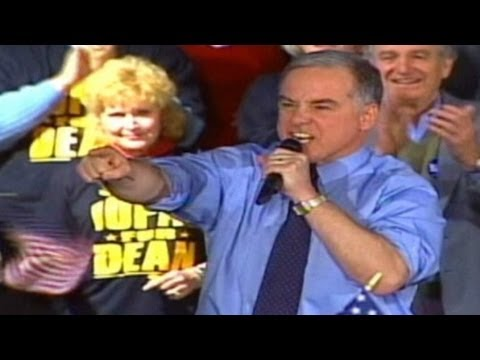 2004: Howard Dean's infamous yell