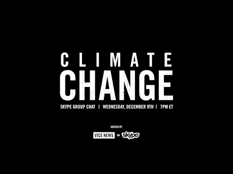 Join Our Skype Group Chat About Climate Change