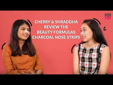 Cherry & Shraddha Review The Beauty Formulas Charcoal Nose Strips - POPxo Beauty