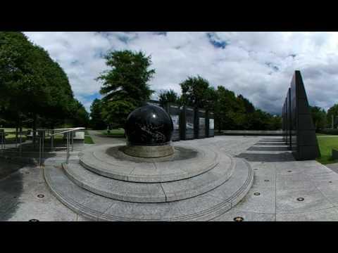 LG 360 CAM Spinning globe at Bicentennial Park, Nashville, Tennessee