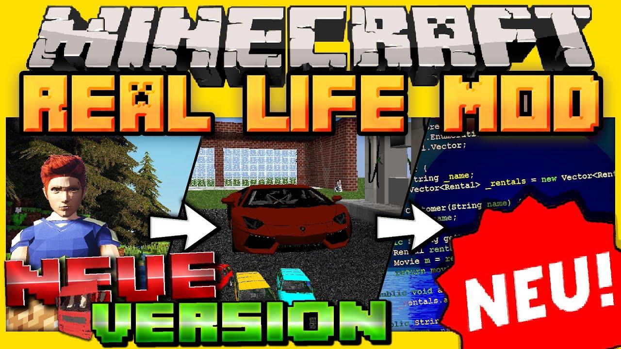 Real Life Mod Mods Minecraft CurseForge