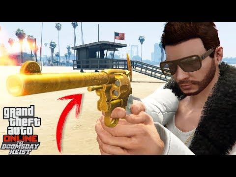 GTA 5 | NUEVA ARMA SECRECTA!! EN BUSCA DEL REVOLVER DE DOBLE ACCIÓN | XxStratusxX