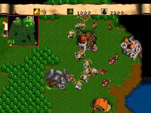 """[TAS] PSX Warcraft II: The Dark Saga """"Human Campaign"""" by Flip in 1:17:53.32"""