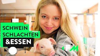 Tiere töten & essen - Hannah im Schlachthof