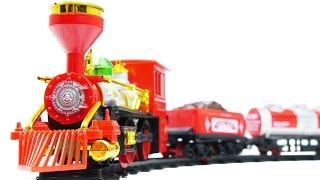 Zhorya Railway Model Red Freight Steam Train Toys VIDEO FOR CHILDREN(Zhorya Railway Model Red Freight Steam Train Toys VIDEO FOR CHILDREN =============================================== Also we suggest you ..., 2015-10-14T14:55:15.000Z)