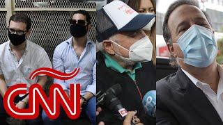 Detienen a dos hijos de Martinelli; y expresidentes Martinelli y Varela imputados en Panamá
