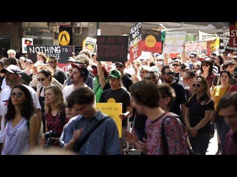 'Invasion Day' protesters slam Australia Day celebrations
