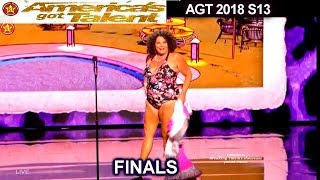 Vicki Barbolak  She's A TEASE in SWIMSUIT & HILARIOUS | America's Got Talent 2018 Finale AGT
