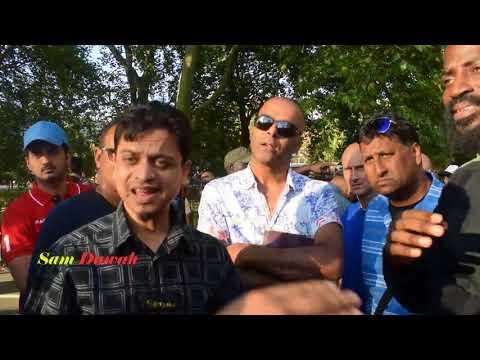 P1 Can you make same claim Br Mansur & Br Adnan Vs Christians preachers Speakers Corner Hyde park