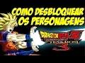 Dragon Ball Z: Budokai Tenkaichi 3 - Como Desbloquear os Personagens!!!
