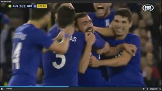 ΑΥΣΤΡΑΛΙΑ - ΕΛΛΑΔΑ 2-1 ΦΙΛΙΚΟ 2  friendly match 7-6-2016 HIGHLIGHTS