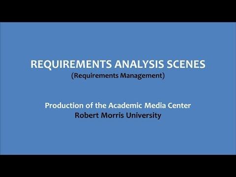 Requirement Analysis Scenes