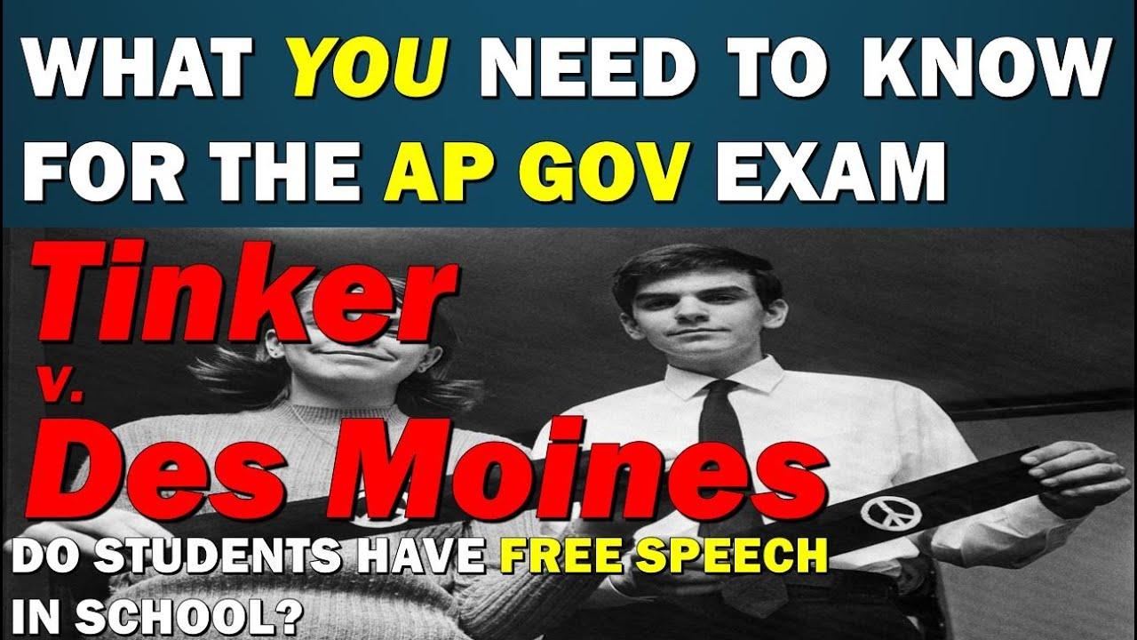 Case 8: Tinker v  Des Moines AP GoPo 2019