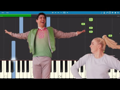 Disney's ZOMBIES - Fired Up - Piano Tutorial