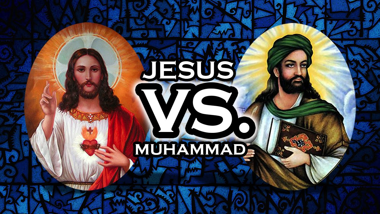 Image result for muhammad vs jesus