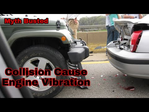 Car Accident Causing Engine Vibration & Noises - How to Replace Transmission Mount Jeep Wrangler JK