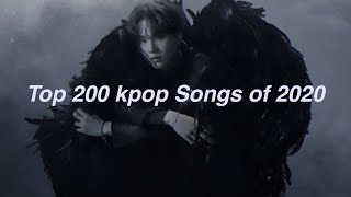 My Top 200 Kpop Songs of 2020