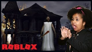 ROBLOX-CAN WE GET OUT OF GRANNY's HOUSE??   Play MARCELA
