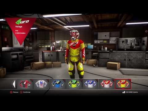MxGp3 the official motocross videogame Customisation de moto et course