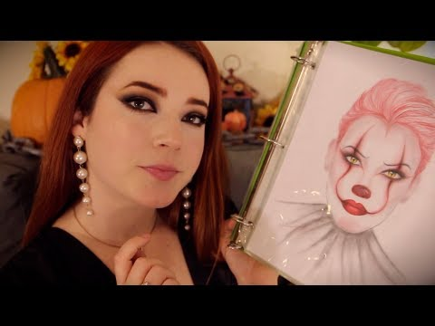 ASMR Halloween Makeup Artist (Valley Girl Accent)