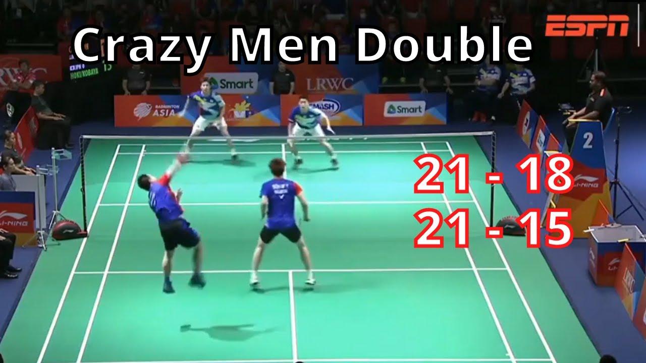 Aaron Chia/ Soh Wooi Yik vs Takuro Hoki/ Yugo Kobayashi - badminton Trickshots 2021
