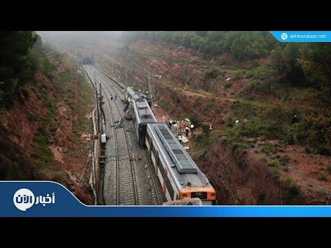 خروج قطار عن مساره في برشلونة  - نشر قبل 3 ساعة