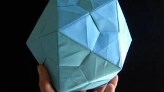 Modular Origami Polyhedra [Icosahedron] ユニット折り紙星