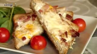 Brzi doručak - tost i jaje na oko iz rerne