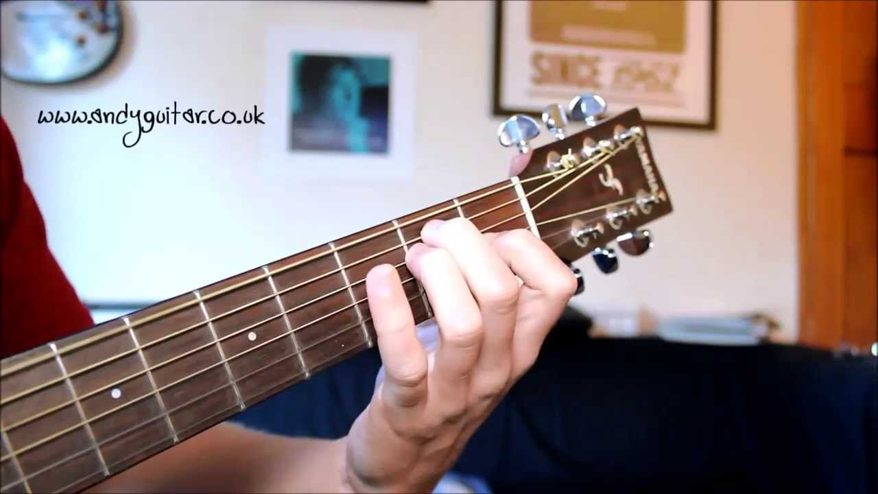 How To Play A B7 Guitar Chord Youtube