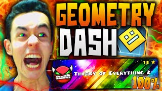 "Geometry Dash! ""THEORY OF EVERYTHING 2"" COMPLETADO 100% #26 - TheGrefg"