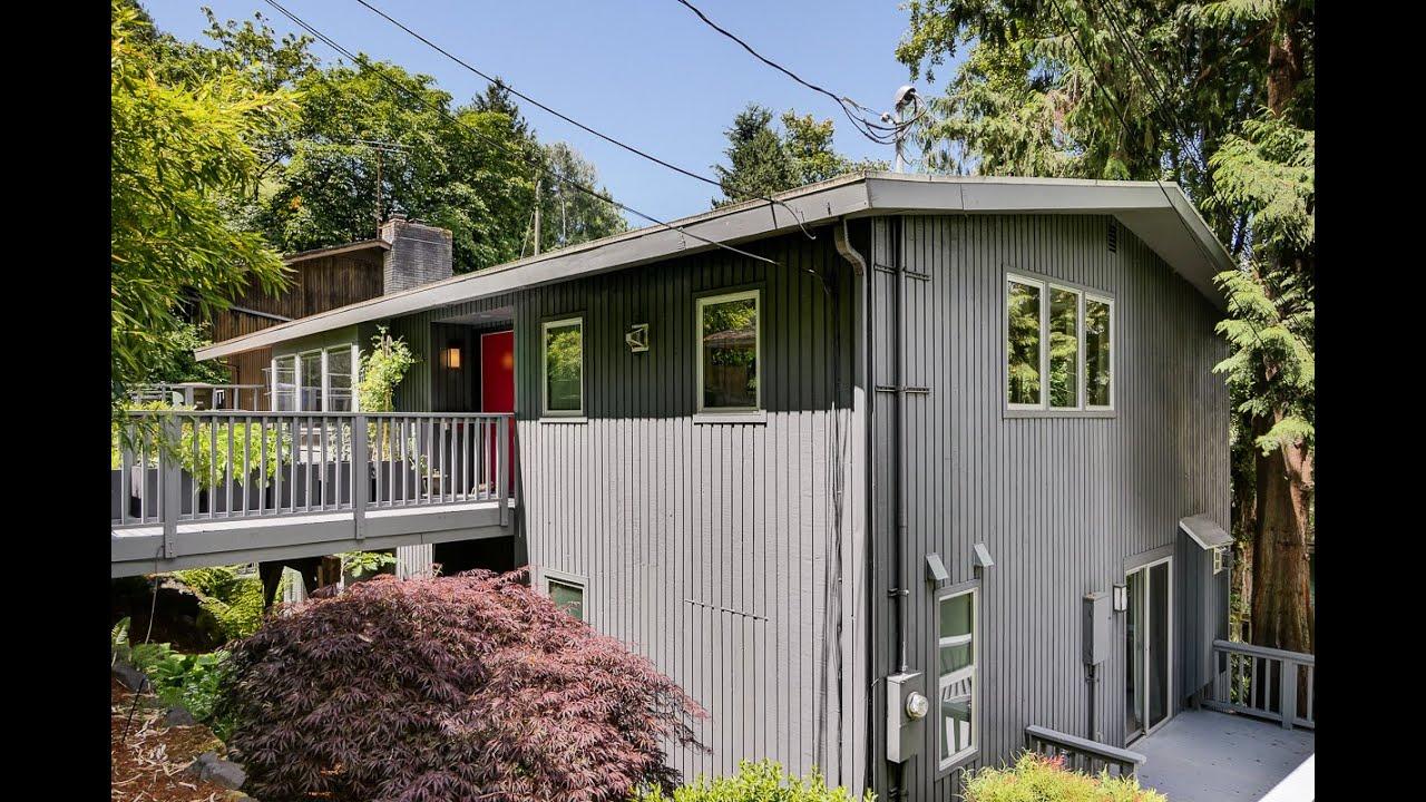 mid-century modern home in montlake neighborhood of seattle - youtube