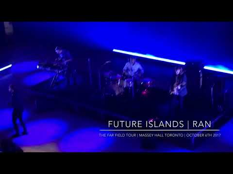 "Future Islands ""The Far Field""  in Toronto 2017 RAN"