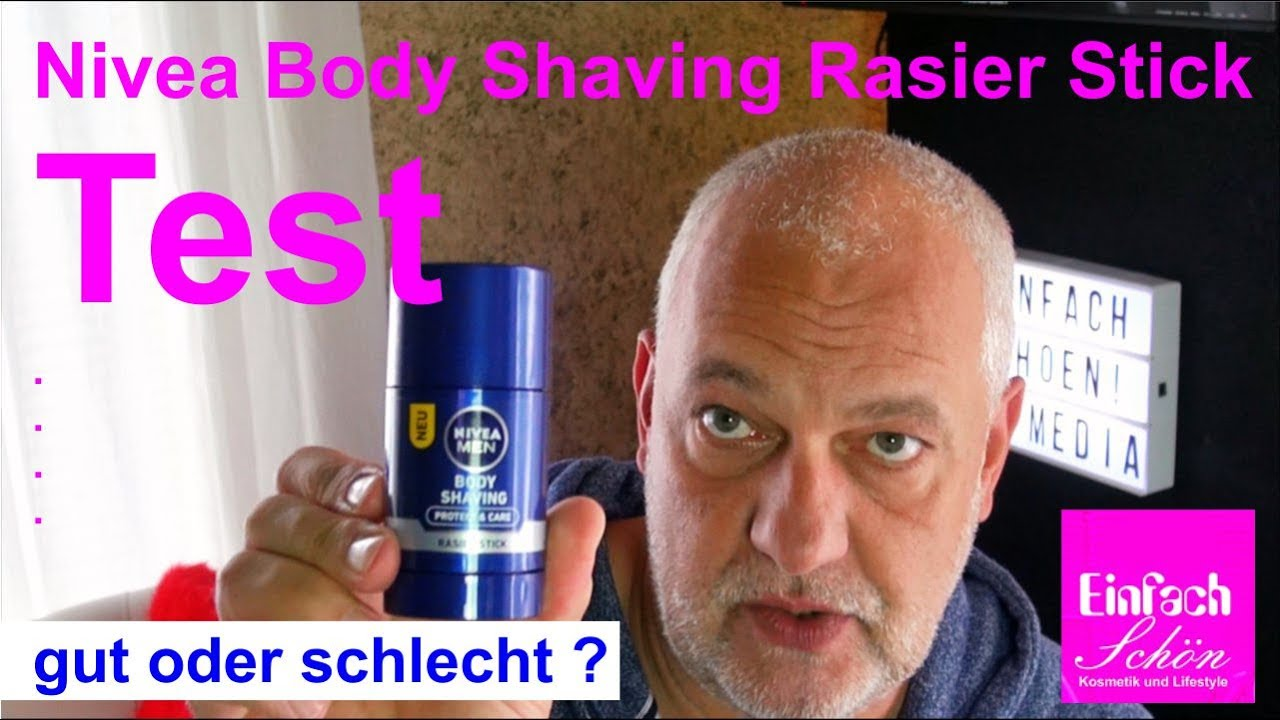 nivea body shaving rasier stick test gut oder schlecht einfach sch n youtube. Black Bedroom Furniture Sets. Home Design Ideas