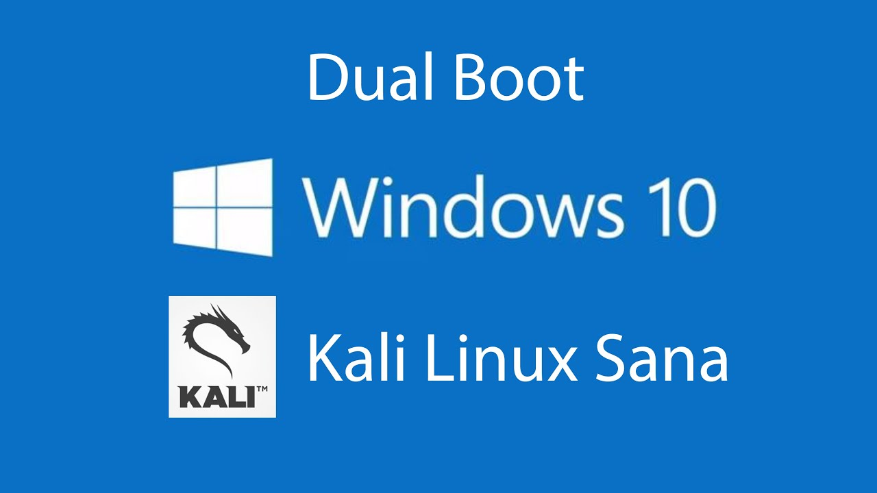 Dual Booting Kali Linux Alongside Windows 10...