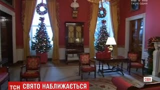 У Білому домі все готове до Різдва