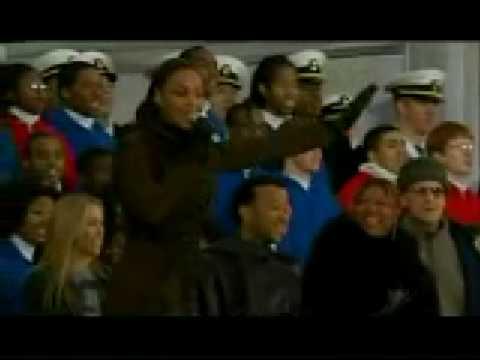 Beyonce au concert d'investiture d'Obama à Washington