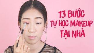 HỌC VIỆN MAKEUP TẬP 3: 13 Bước Tự Học Makeup Tại Nhà [Vanmiu Beauty]