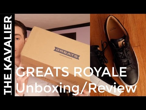 Unboxing Greats Royale Luxury