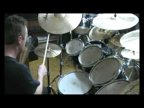 Jarda H. Drumming Kevin Talley´s Beat